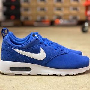 Nike Air Max Tavas Mens Running Shoes Blue Size 6